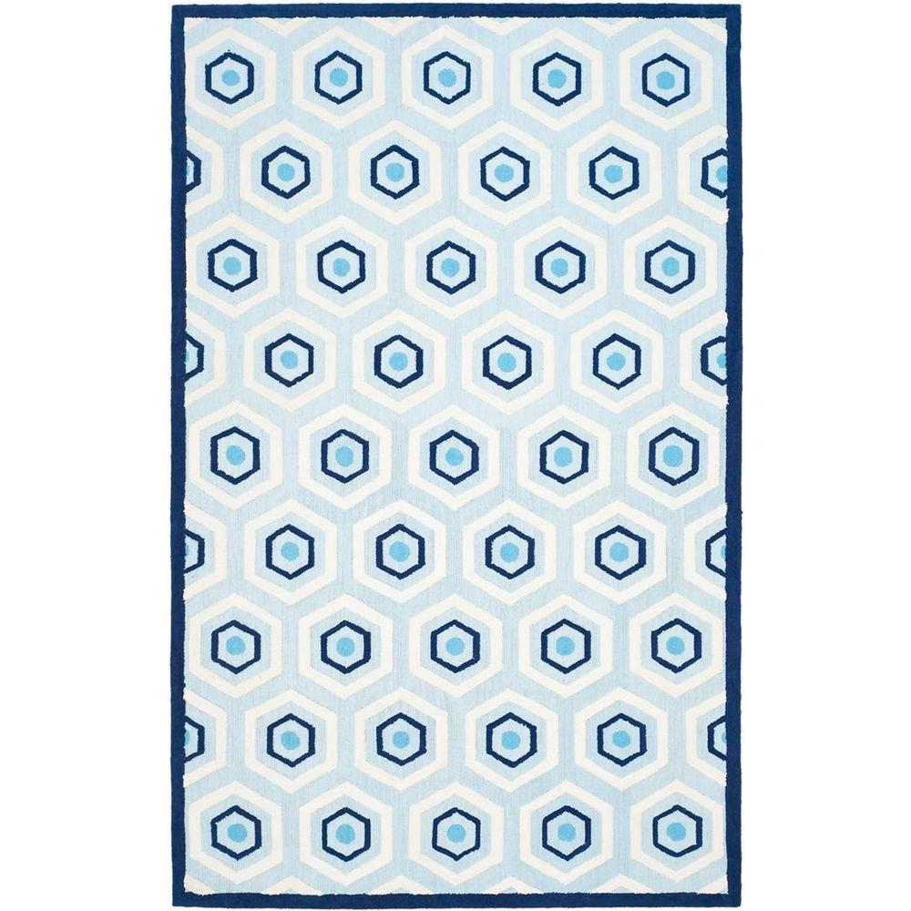 Safavieh Kids Blue/Ivory 8 ft. x 10 ft. Area Rug