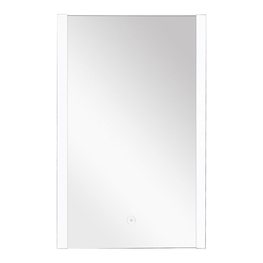 Ethan 21.65 in. x 31.89 in. Single Frameless LED Mirror