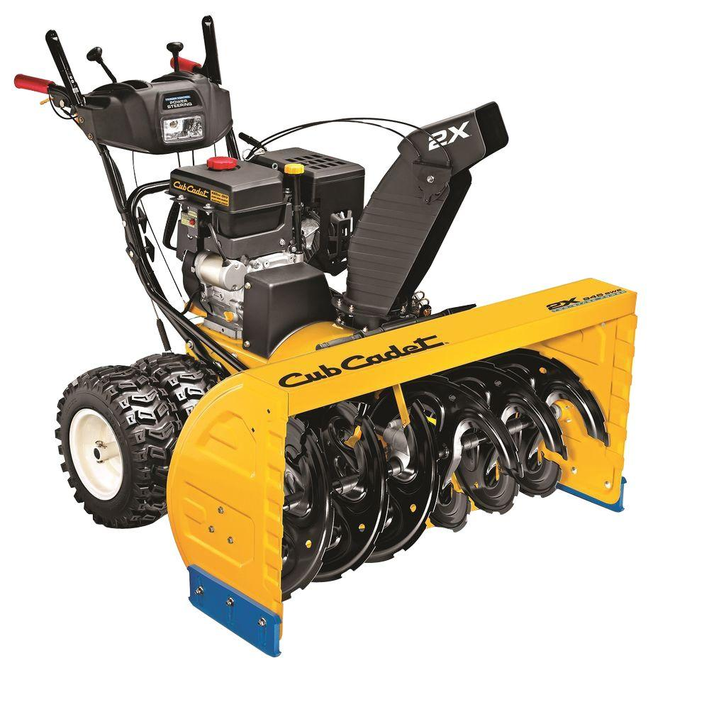 Cub Cadet 2X 945 SWE 45 in. 420 cc Two-Stage Electric Start Gas Snow Blower with Power Steering