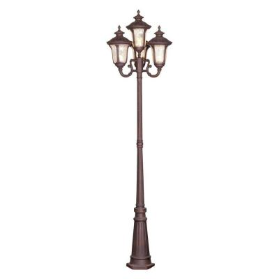 Providence 4-Light Outdoor Imperial Bronze Incandescent Post Light