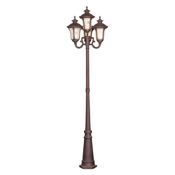 Oxford 4 Light Imperial Bronze Outdoor 4 Head Post