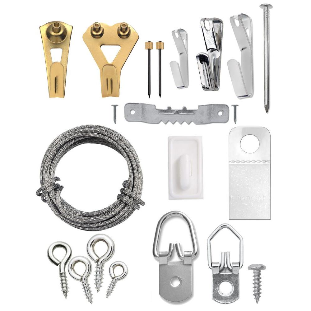 Ook 61 Piece Professional Picture Hanging Kit 50900 The Home Depot