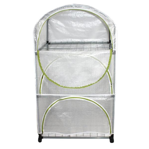 35.5 in. W x 19 in. D Arched Greenhouse 2014