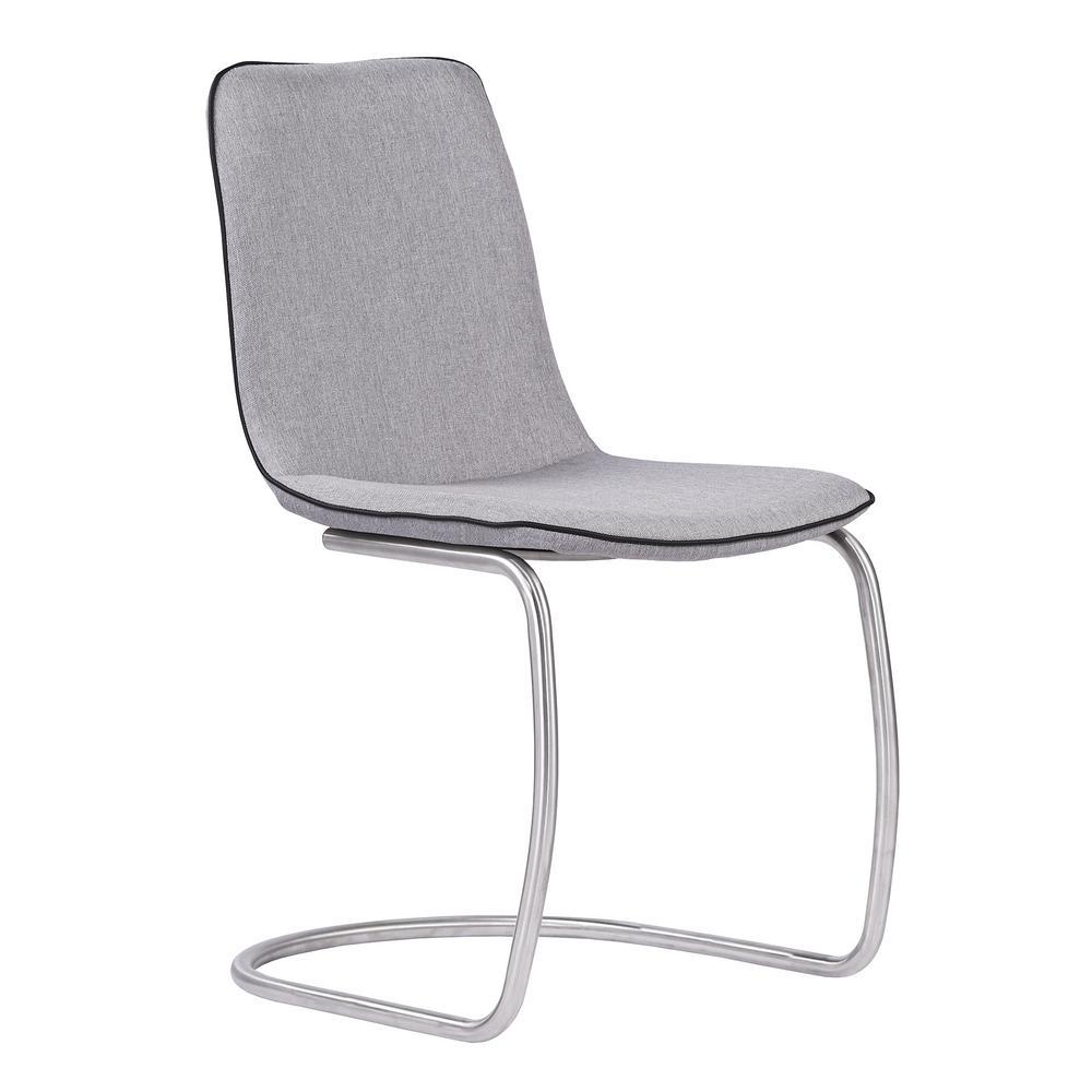 Nushin Pewter Dining Chair (Set of 2)