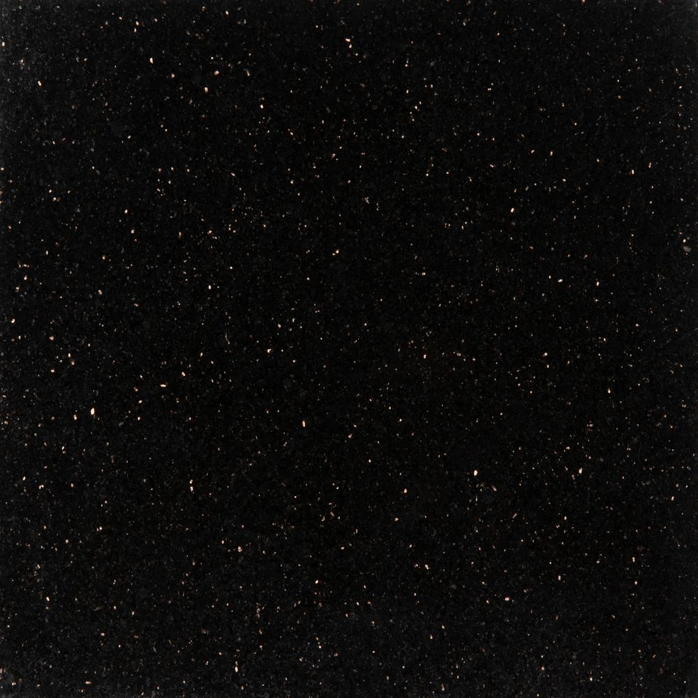 MSI Black Galaxy 18 in. x 18 in. Polished Granite Wall Tile (9 sq. ft. / case)