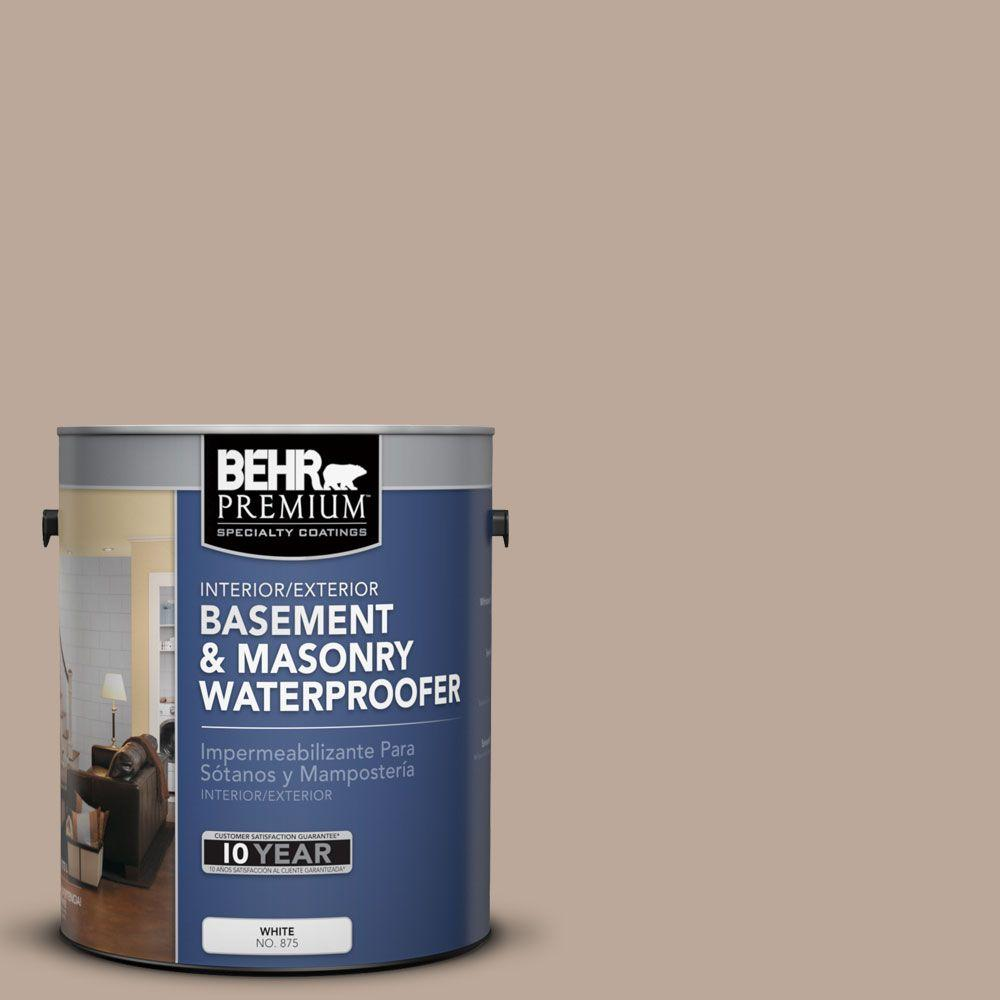 BEHR Premium 1 gal. #BW-51 Dusty Canyon Basement and Masonry Waterproofer