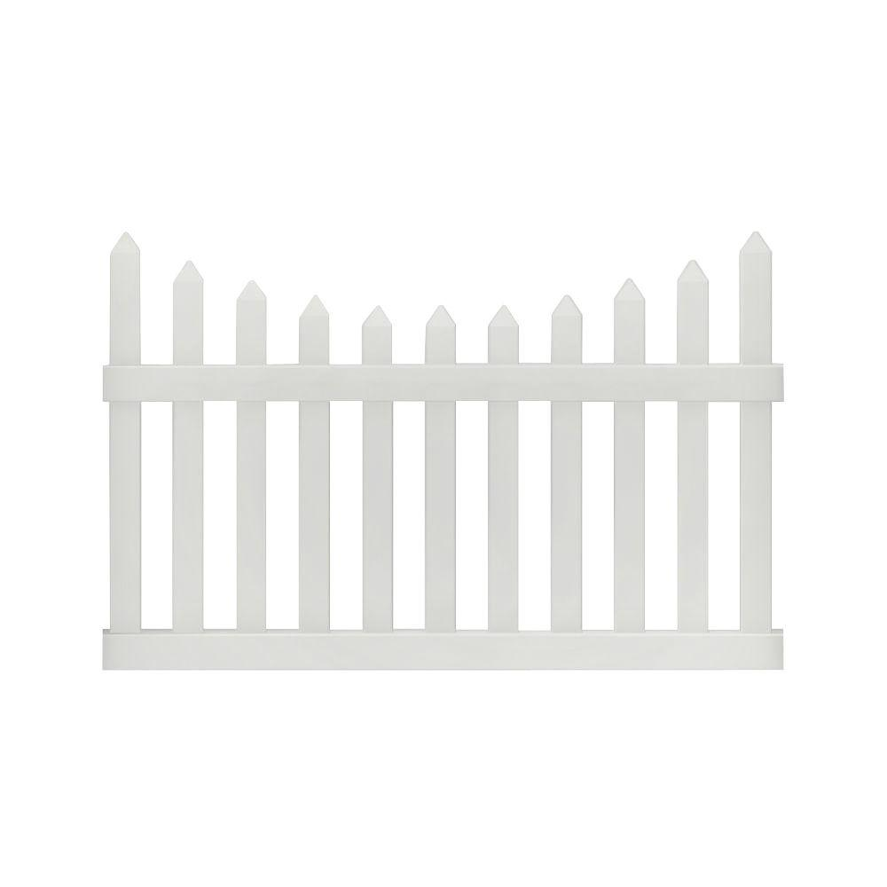 vinyl fence panels home depot. W White Vinyl Windham Fence Panel-73014216 - The Home Depot Panels E