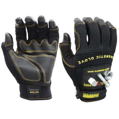 Pro Fingerless Large Magnetic Glove