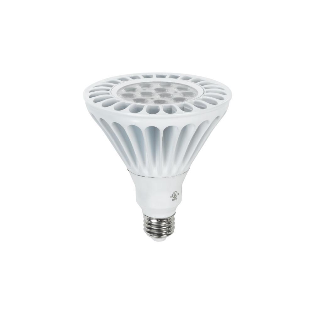 Duracell 85w Equivalent Cool White Par38 Dimmable Led Spot Light Bulb D17par38850fld The Home