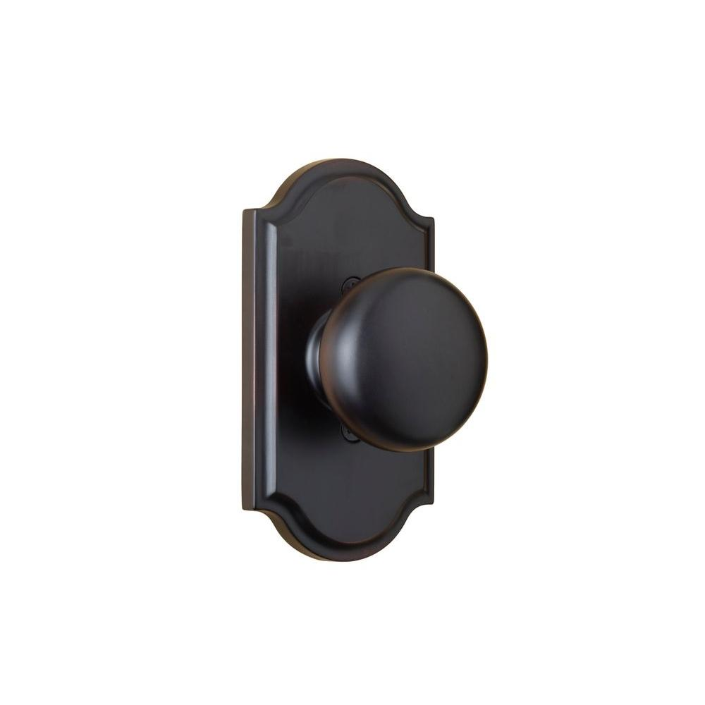 Elegance Oil Rubbed Bronze Premiere Half-Dummy Impresa Door Knob