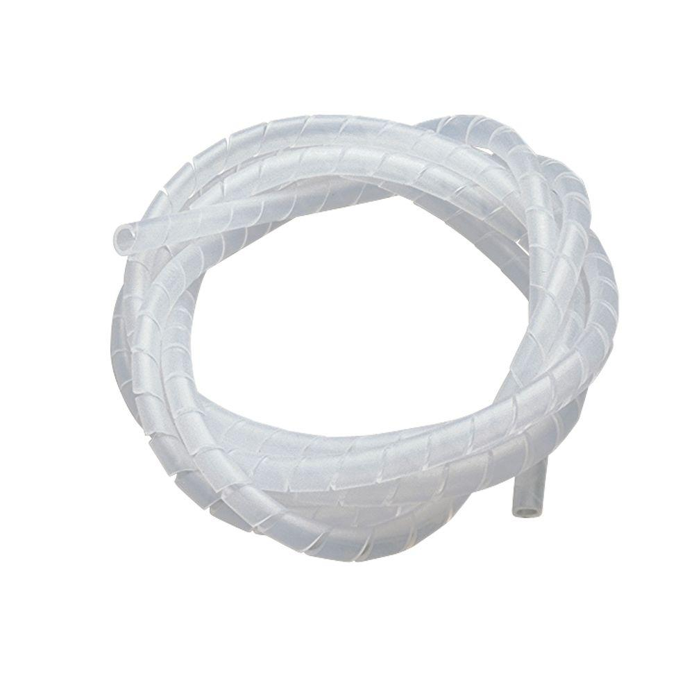 Gardner Bender 1/2 in. 3.5 ft. Spiral Wrap - Clear-FSP-CLEART - The ...