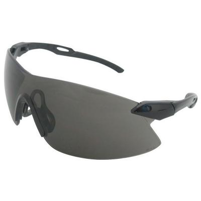 e01a8a40a499 Strikers Eye Protection Black Temple and Gray Lens