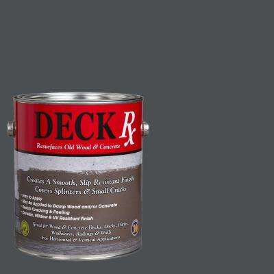 Deck Rx 1 gal. Pewter Wood and Concrete Exterior Resurfacer