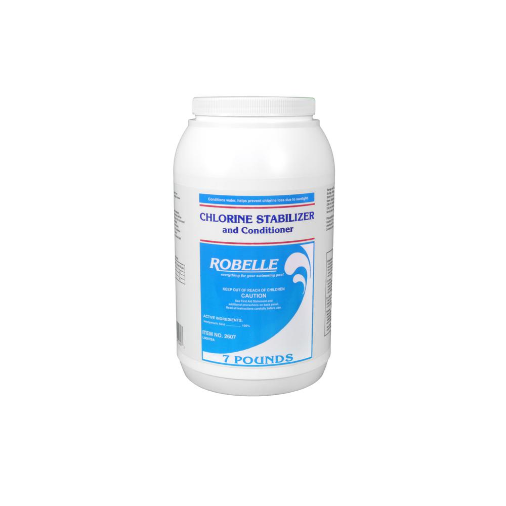 Robelle 7 lbs chlorine stabilizer and conditioner for - What is swimming pool conditioner ...