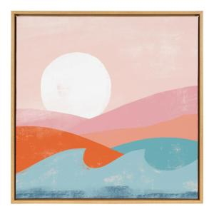 "Sylvie ""Endless Summer"" by Kate Aurelia Studio Framed Canvas Wall Art"