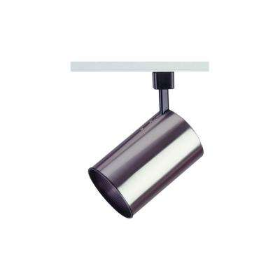 1 Light Track Light Fixture Satin Nickel