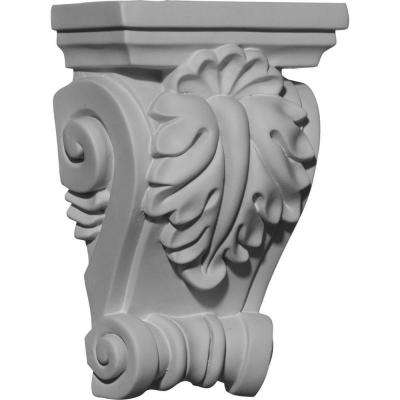 4-1/4 in. x 2-3/8 in. x 6-3/8 in. Polyurethane Cole Corbel