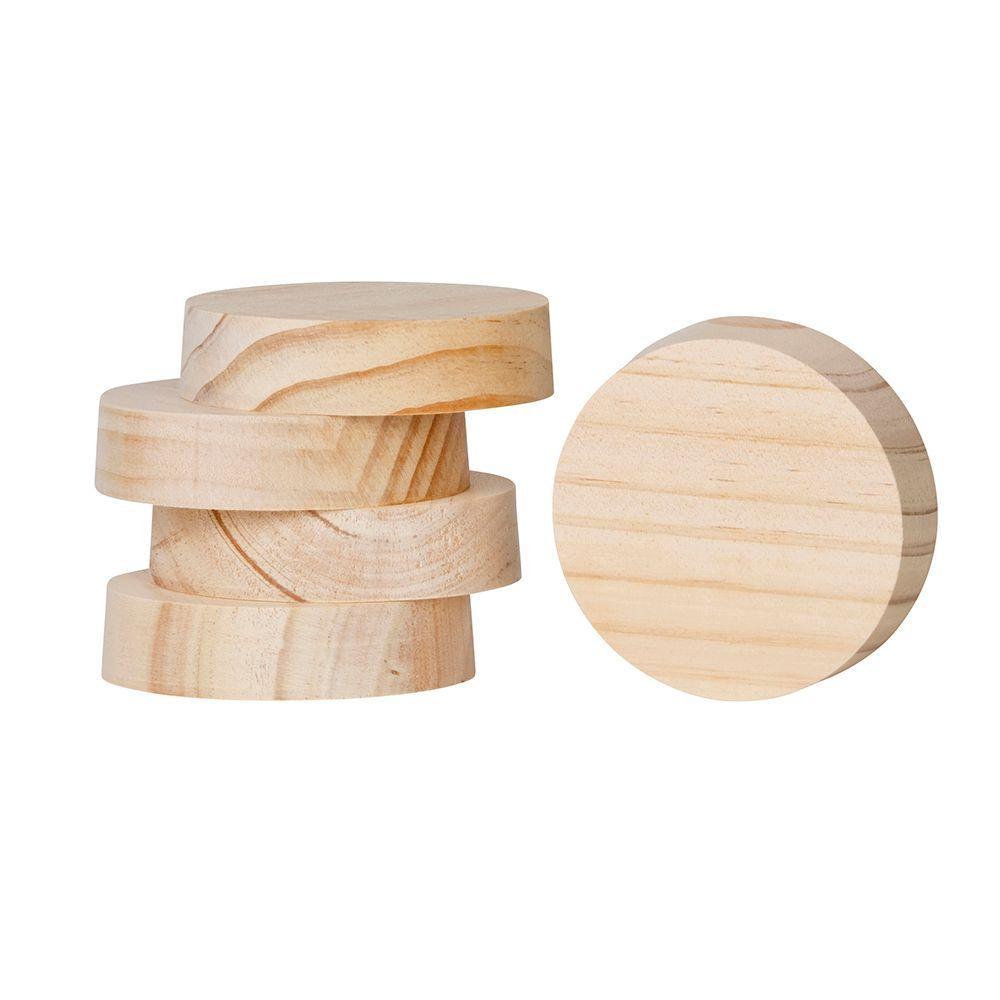 3 in. x 3 in. AttiCat Fiberglass Blown-In Insulation System Wood Wall Plugs (400-Pieces / Carton)