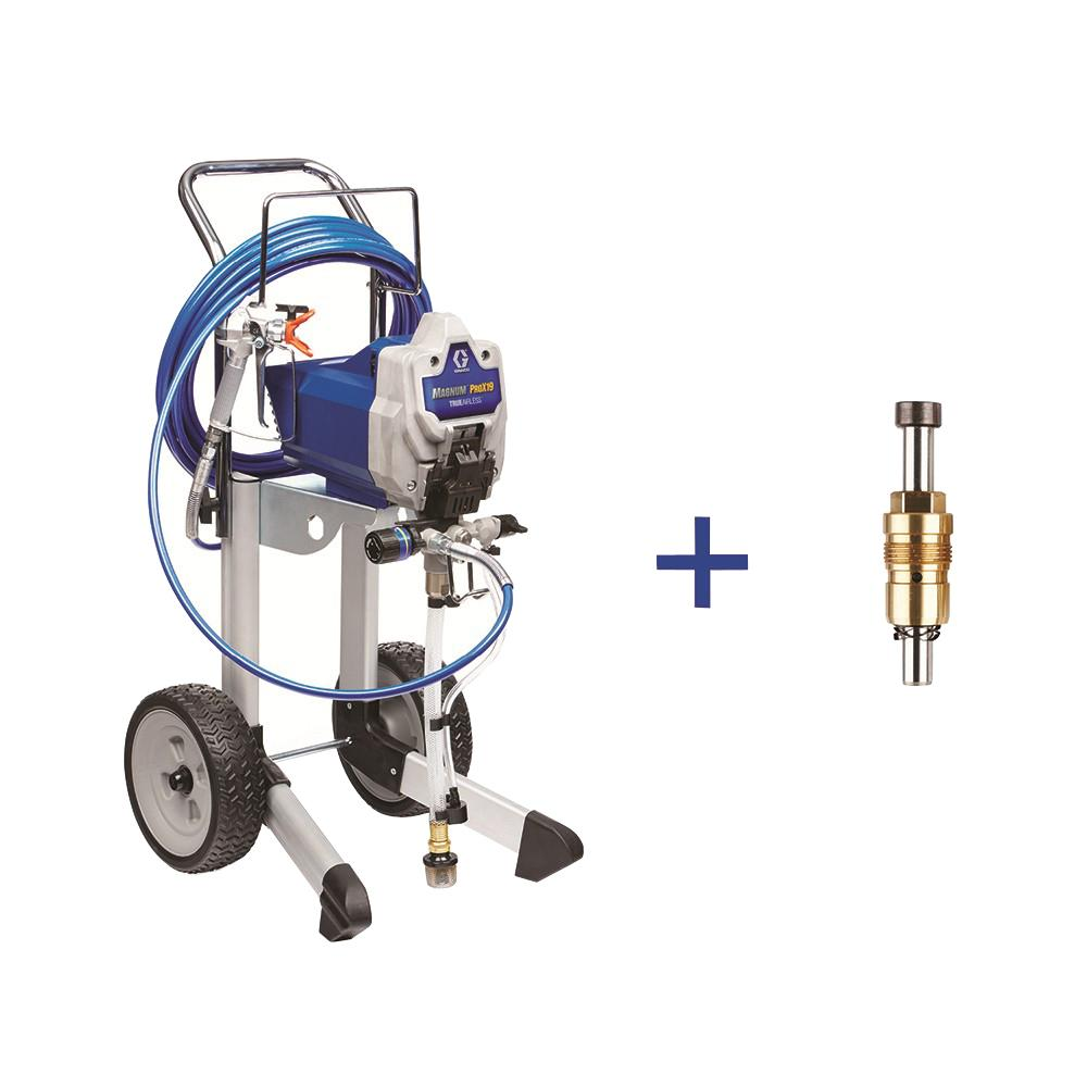 Graco ProX19 Cart Airless Paint Sprayer with ProXChange R...