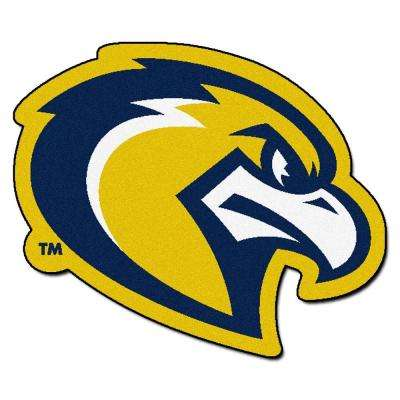 NCAA Marquette University Eagle Logo Yellow 3 ft. x 4 ft. Specialty Area Rug