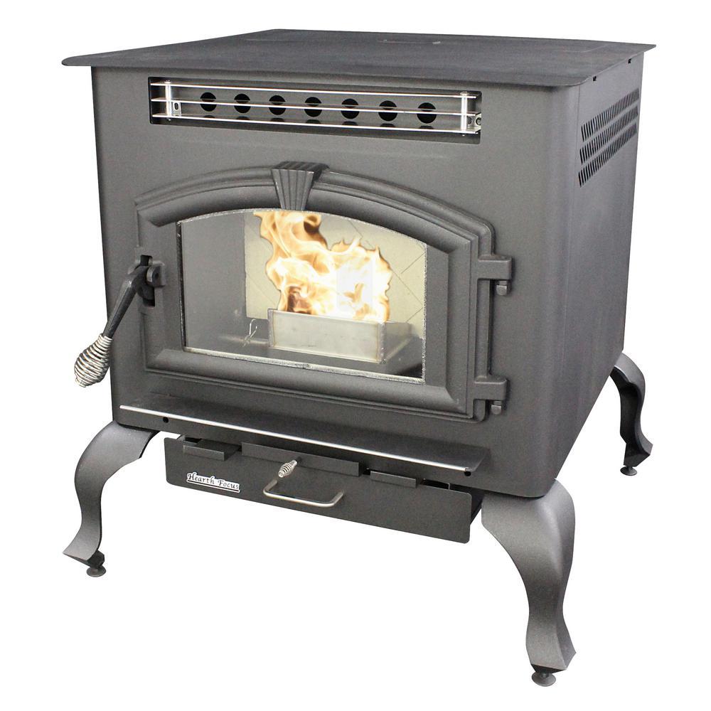 us stove 2 000 sq ft multi fuel stove 6041hf the home. Black Bedroom Furniture Sets. Home Design Ideas