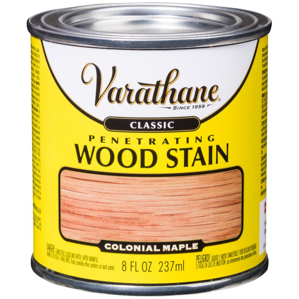 8 oz. Colonial Maple Classic Wood Interior Stain (4-Pack)