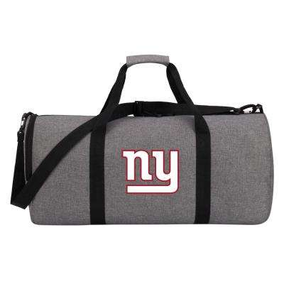 NY Giants Wingman 10 in. Heathered Gray Duffle Bag