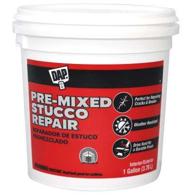 Pre-Mixed Stucco Patch 1 Gal. Off-White (2-Pack)