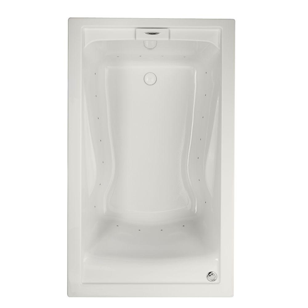 American Standard Evolution 60 in. Acrylic Rectangular Drop-in Air ...