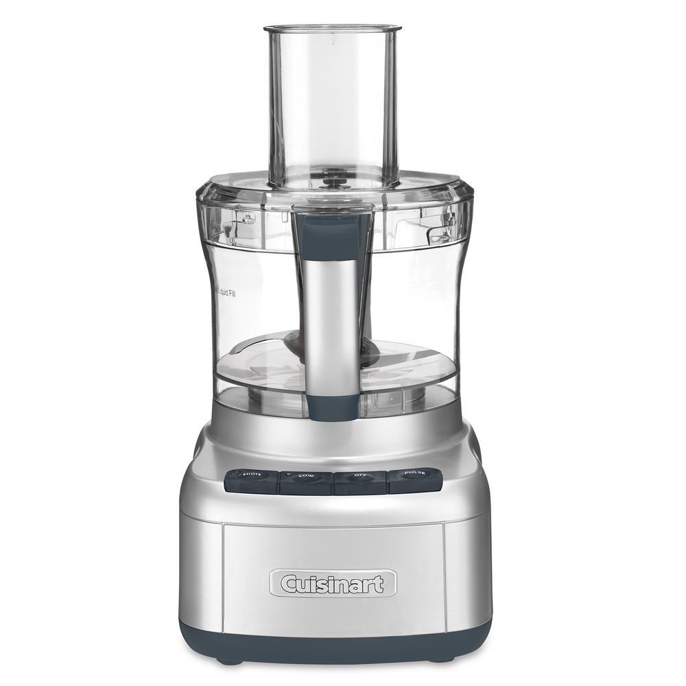 Elemental 8-Cup Silver Food Processor