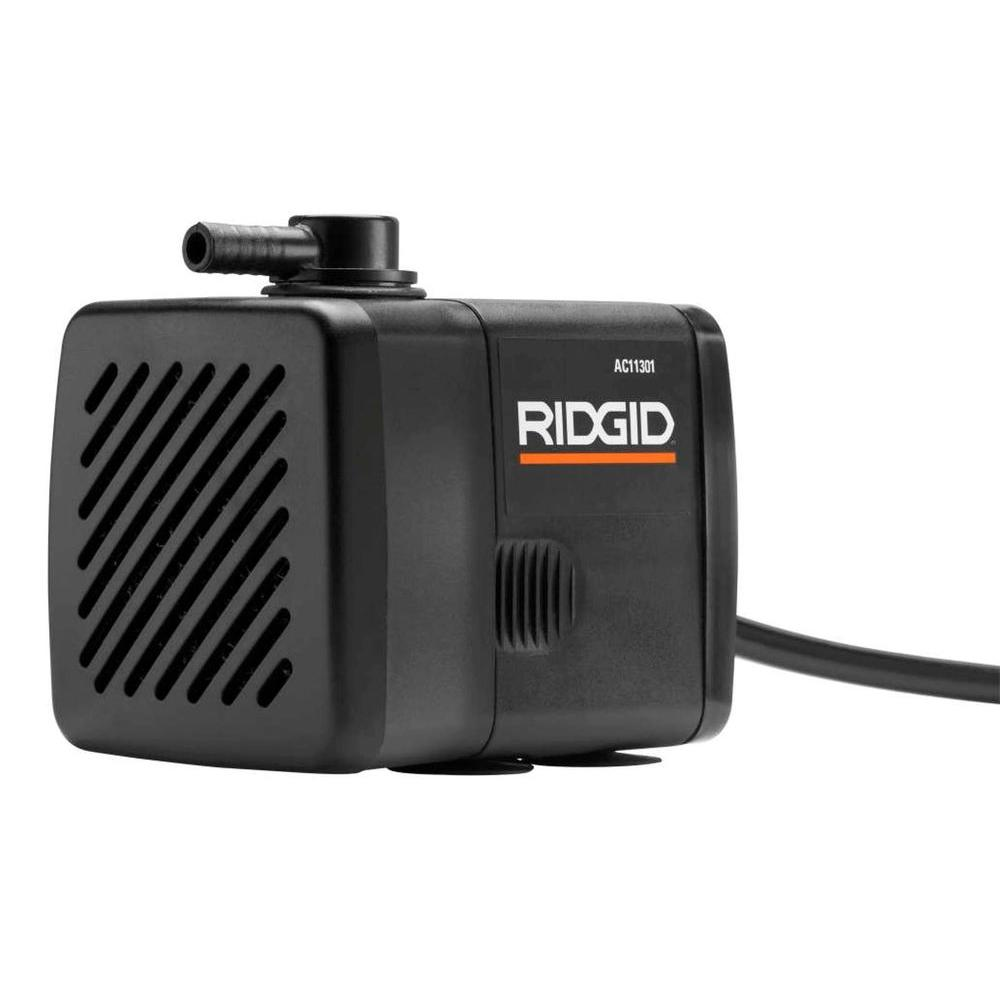 RIDGID Replacement Submersible Water Pump For RIDGID Tile Saws - Dewalt wet saw pump