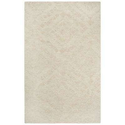 Fifth Avenue Beige 10 ft. x 13 ft. Abstract Area Rug