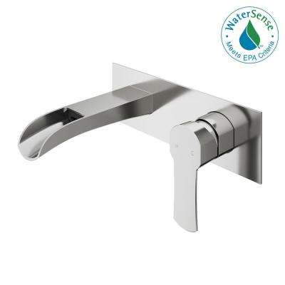 Single Handle - Wall Mounted Bathroom Sink Faucets - Bathroom Sink ...