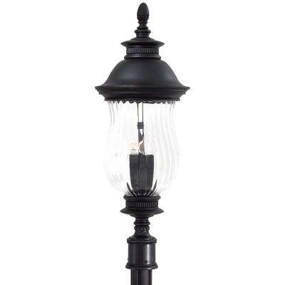 Newport 4-Light Outdoor Heritage Post Mount