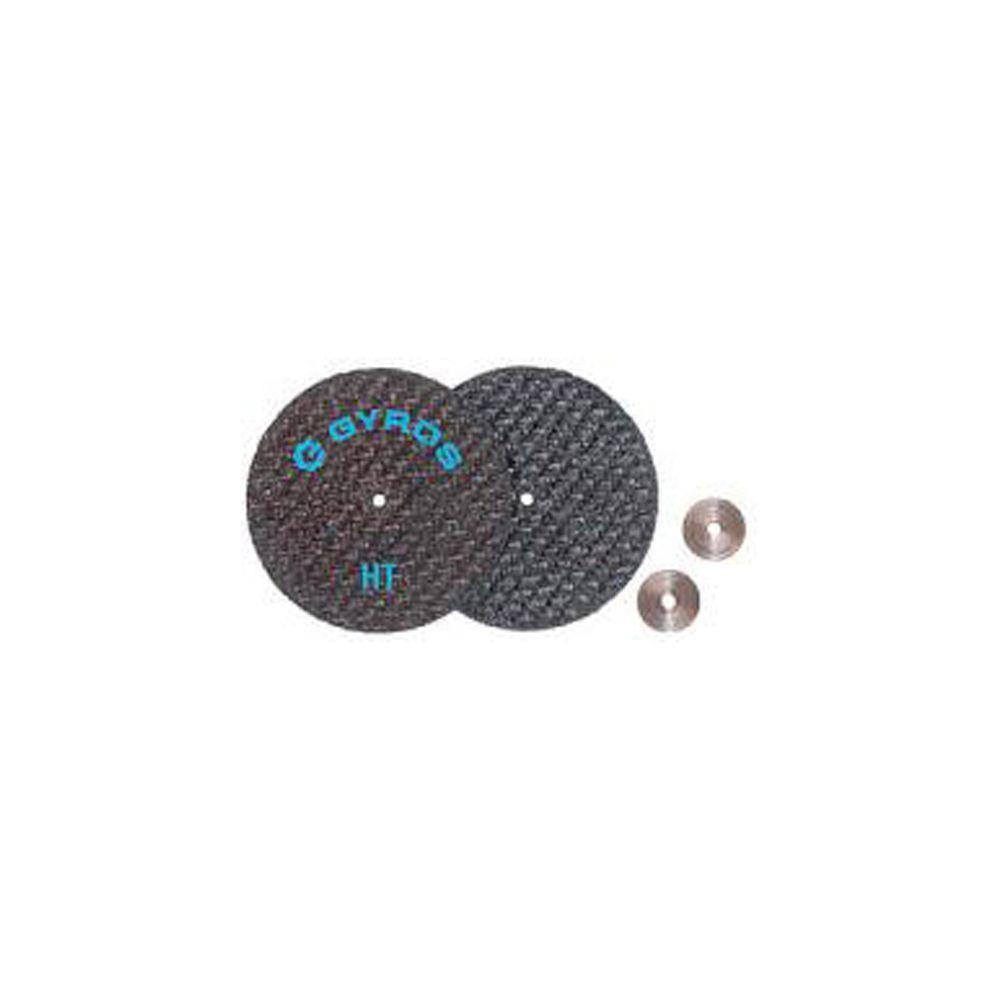 Gyros Fiber Disks HT 1-1/2 in. Diameter Reinforced Cut Off Wheels (50-Pack)