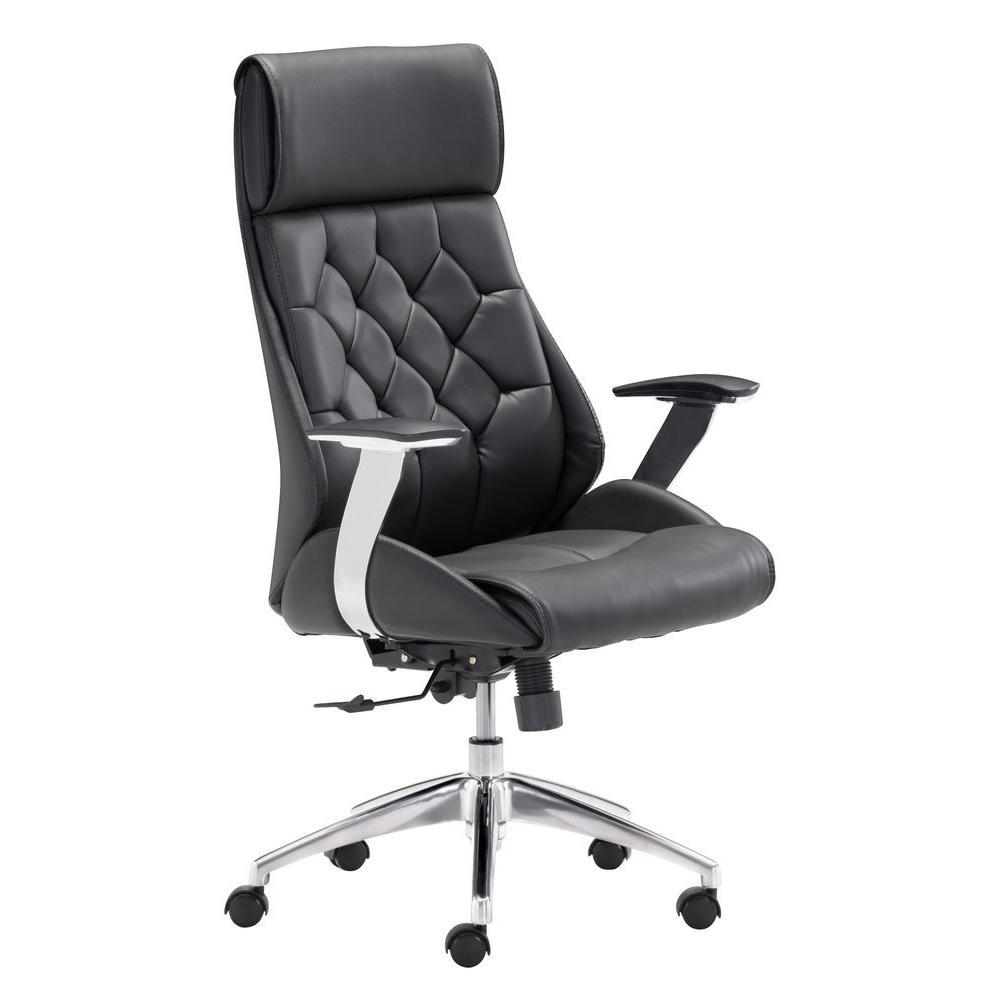 Boutique Black Office Chair