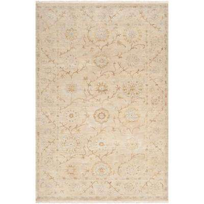 Jahan Khaki 5 ft. 6 in. x 8 ft. 6 in. Area Rug