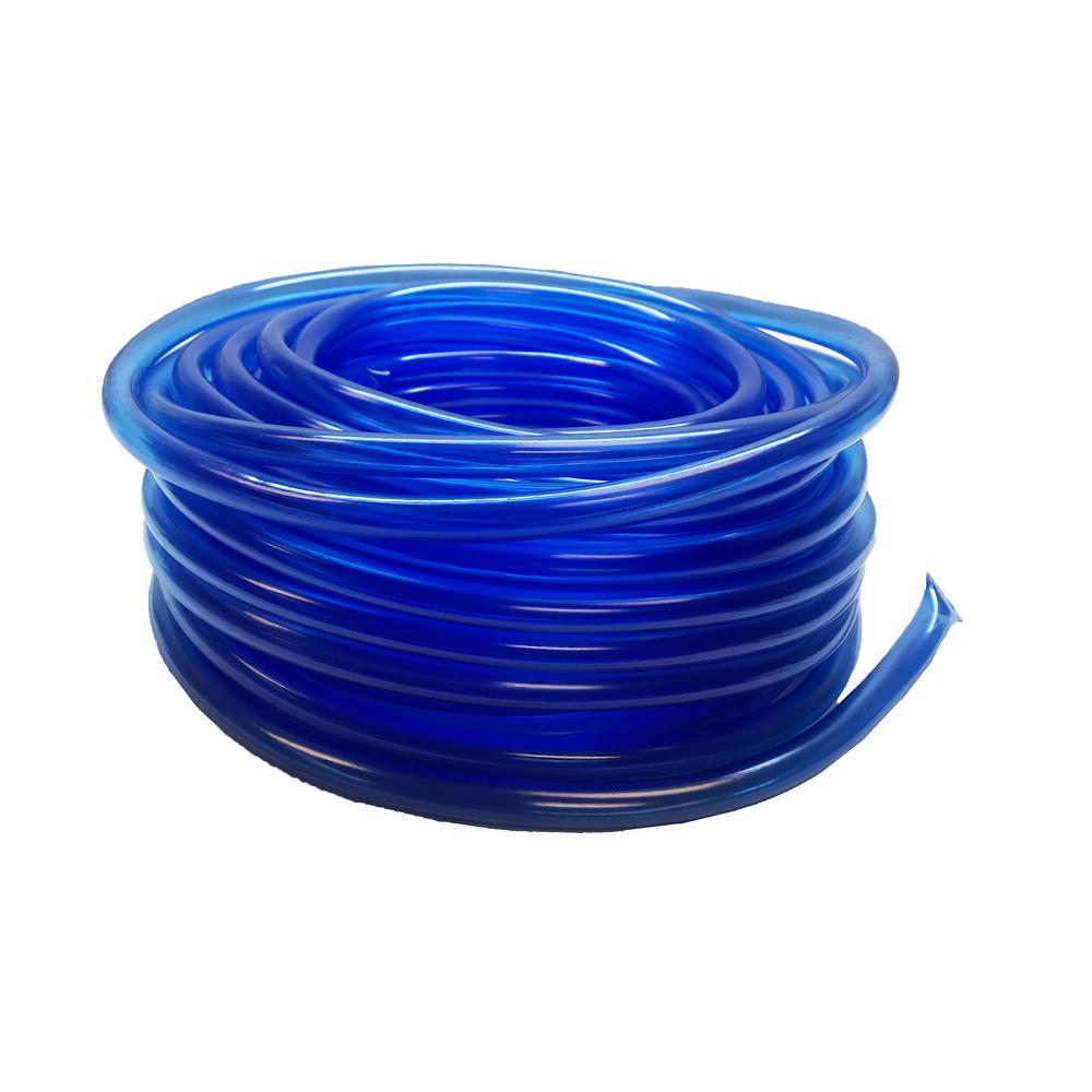 100 ft. 30 m, 1/2 in. I.D-5/8 in. Vinyl Multipurpose BPA Free Food Grade Soft Irrigation Tubing