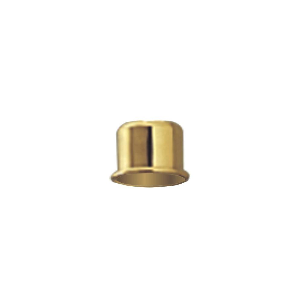 Progress Lighting Polished Brass Candle Cap Lighting Accessory