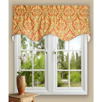 Donnington 15 in. L Cotton Lined Duchess Filler Valance in Clay