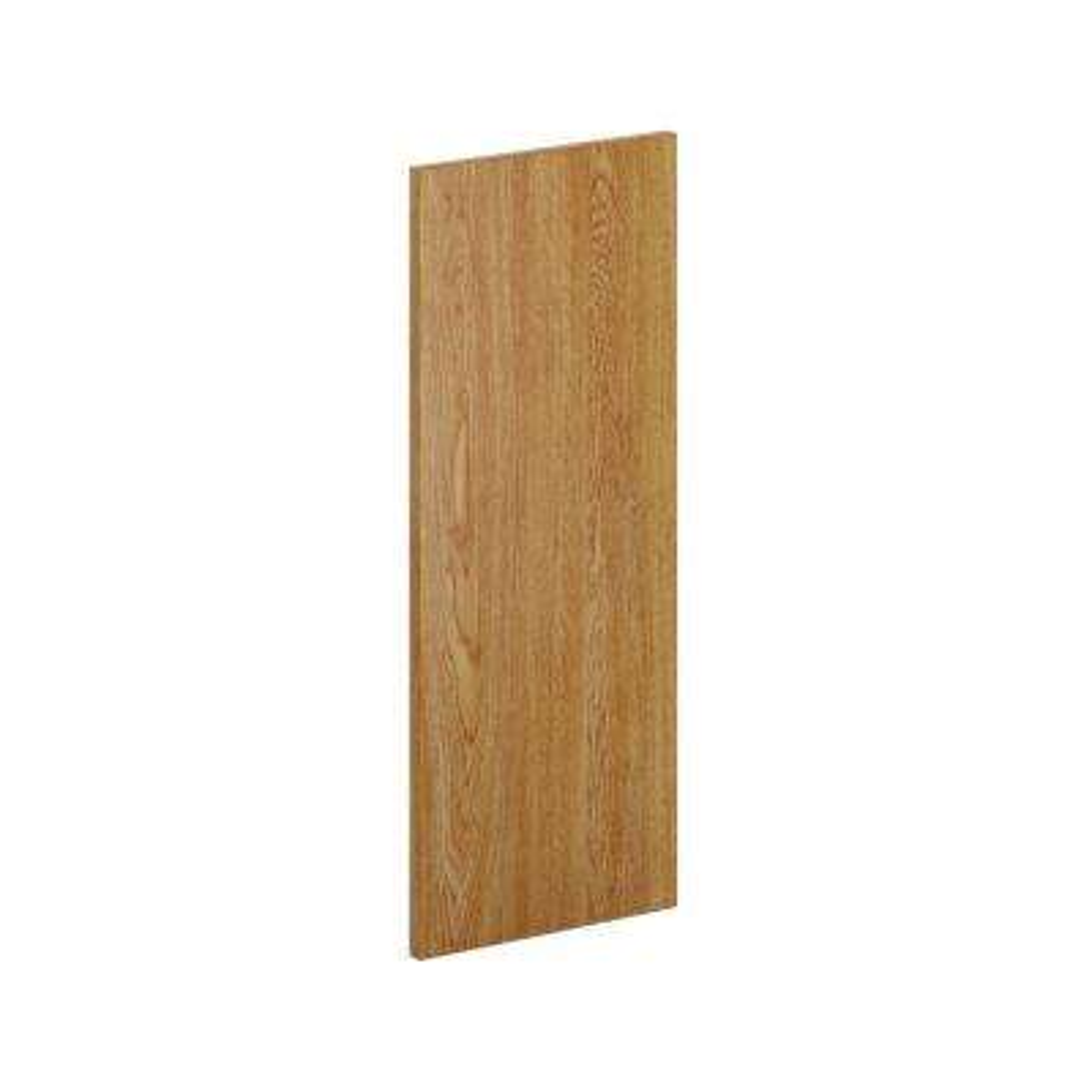 12 in. x 30 in. x.0.125 in. Kitchen Cabinet Flush-Fit End Panel in Medium Oak (2-Pack)