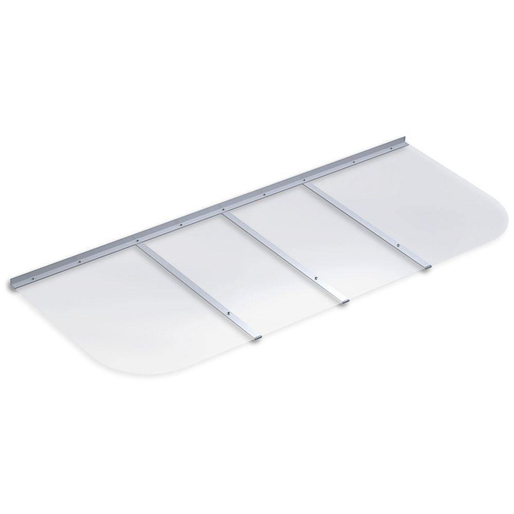 DYNE 66 in. x 26 in. Rectangular Clear Polycarbonate Base...