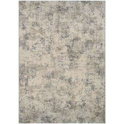 Easton Antique Lace Flax 7 ft. x 10 ft. Area Rug
