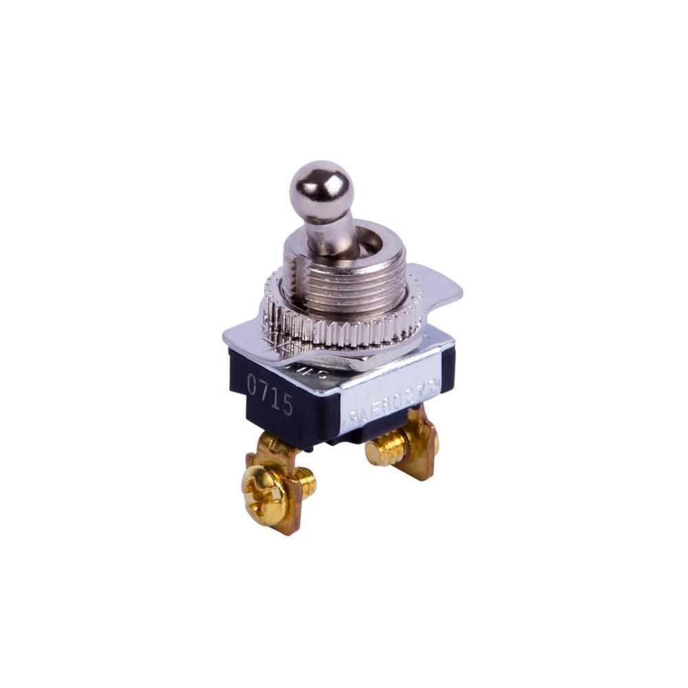 Toggle Switch SPST SB 6 Amp 120 Volt AC (Case of 5)