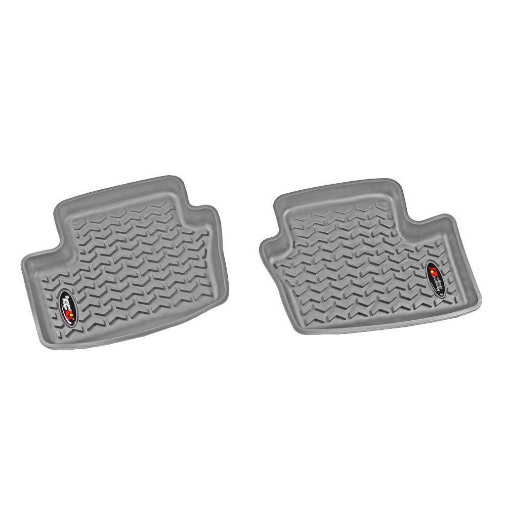 Floor Liner Rear Pair Gray 2007-2014 Caliber/Compass/Patriot MK