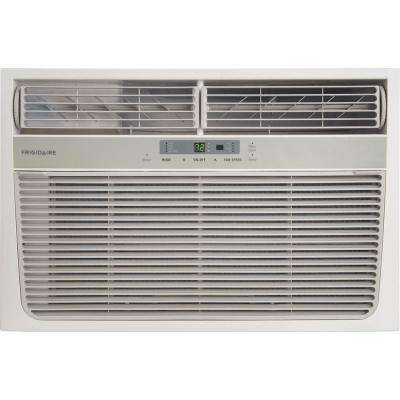 11,000 BTU 115-Volt Heat/Cool Window Air Conditioner with Remote Control
