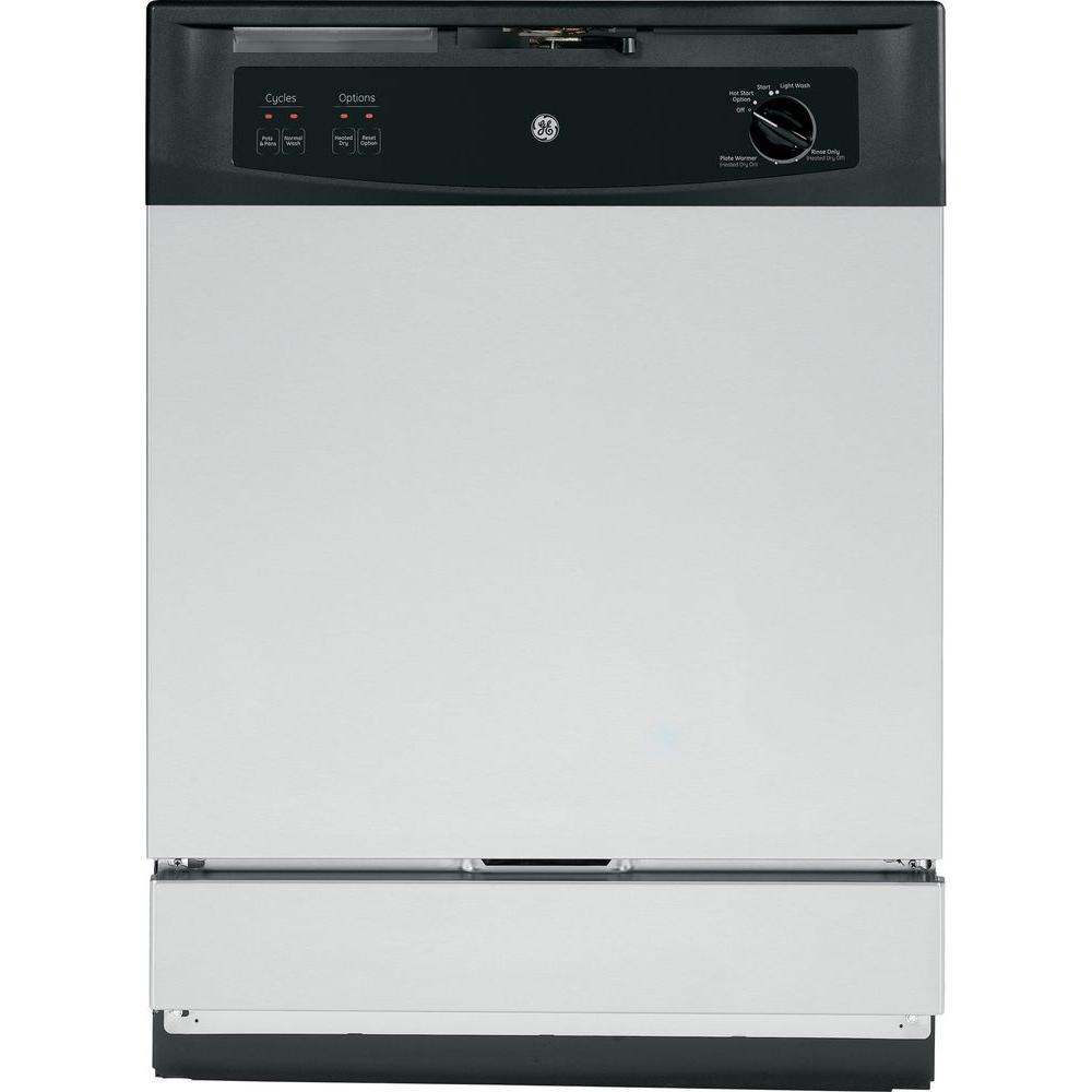 Front Control Under-the-Sink Dishwasher in Stainless Steel