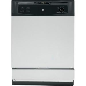 GE Front Control Under-the-Sink Dishwasher in Stainless Steel by GE