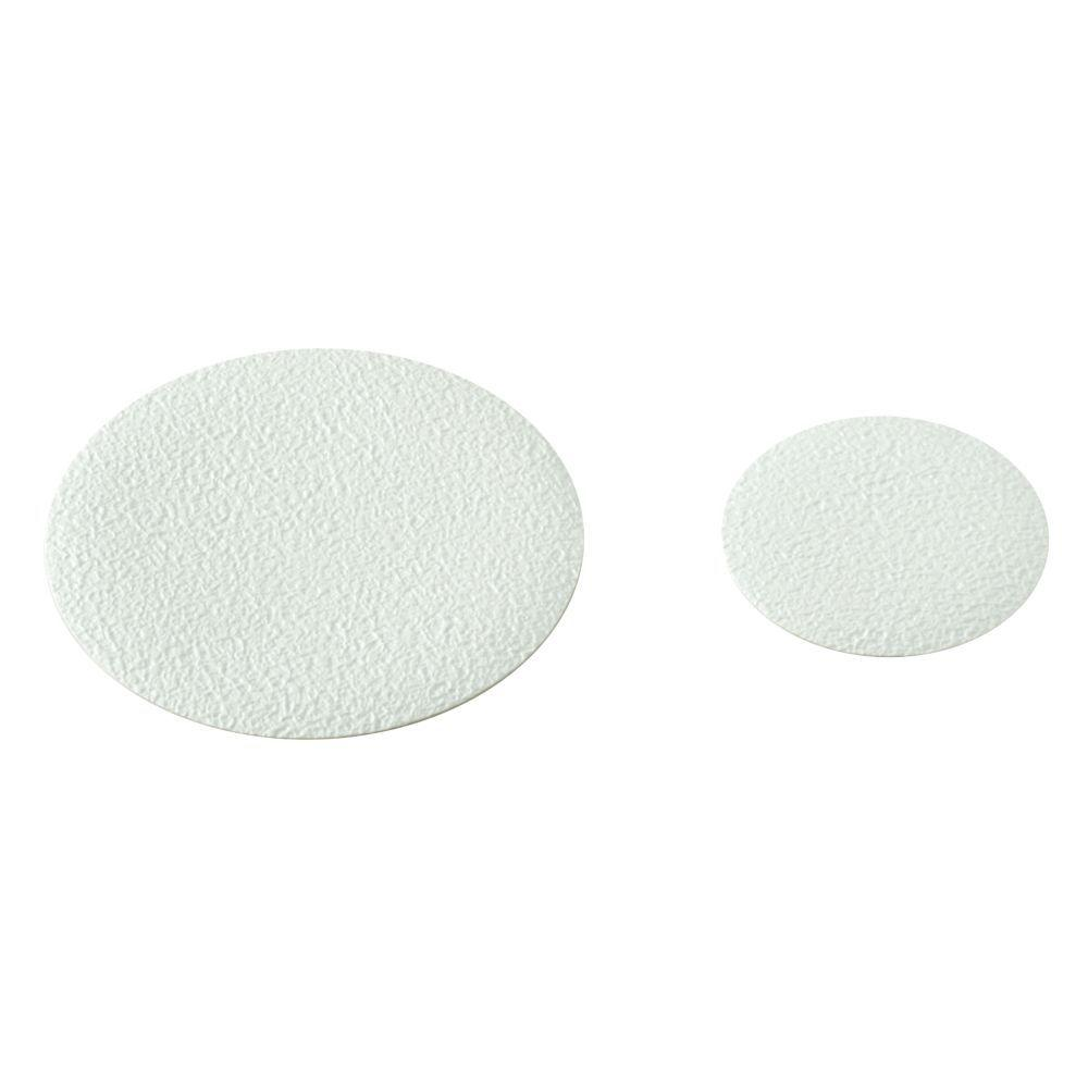 Non Slip Tread Shapes In White (10 Pack)
