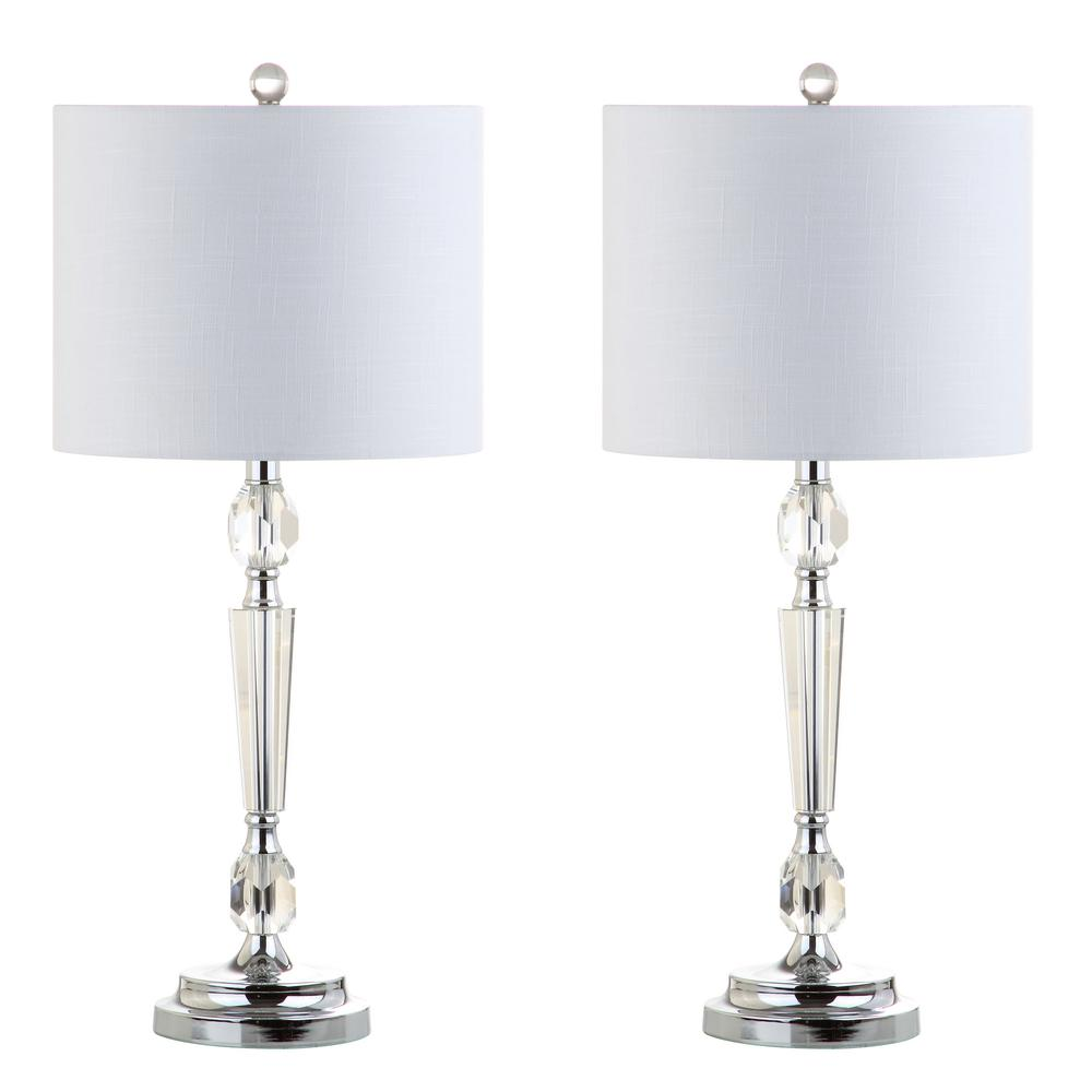 Victoria 27 in. Crystal Table Lamp (Set of 2)